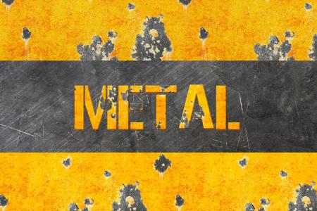 Eroded Metal Text Effect