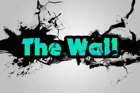 Break Wall Text Effect
