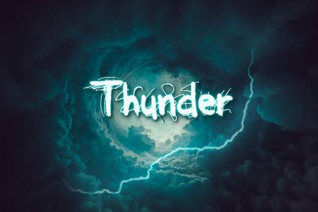 Thunder Text Effect Online