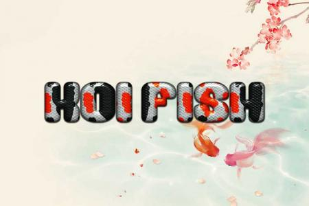 Koi Fish Text Effect Online