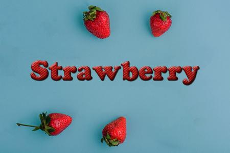 Strawberry Text Effect Online