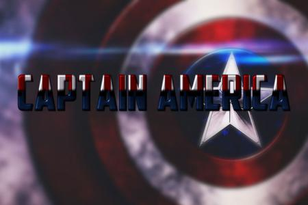 Captain America Text Effect