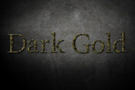Metal Dark Gold Text Effect Online