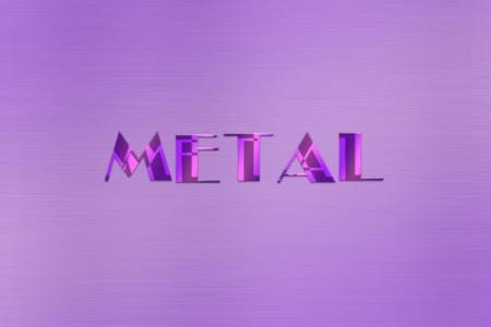Metal Purple Dual Effect