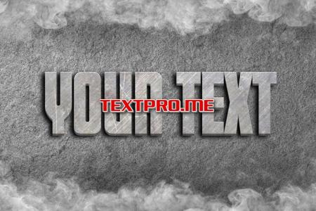 Create a Stone Text Effect Online