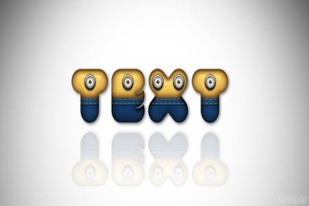 Minion Text Effect 3D Online
