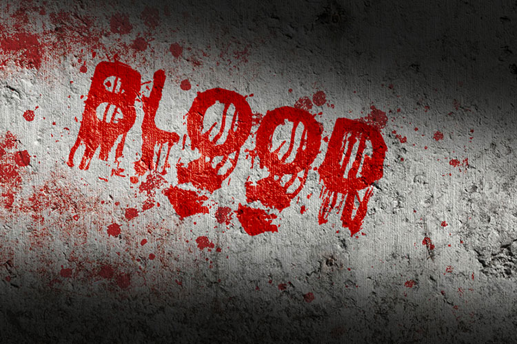 Horror Blood Text Effect Online