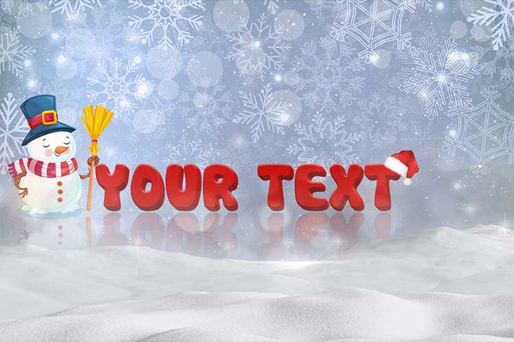 Xmas Cards 3D Online