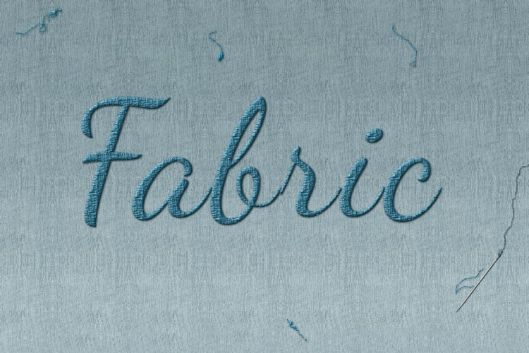 Fabric Text Effect Online